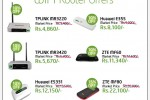 Etisalat Wi-Fi Routers Special Discount December 2012