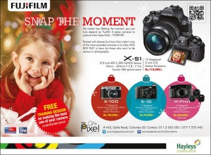 Fujifilm Camera Christmas seasonal Offer