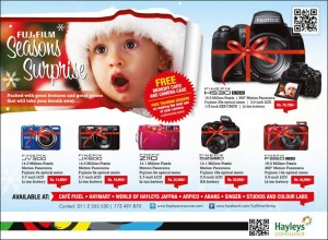 Fujifilm Cameras - Christmas Seasonal Offer