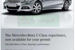 Mercedes Benz C Class – USD 30,000 for Permit Holders