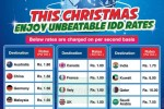 Mobile Special IDD Rates for Christmas 2012