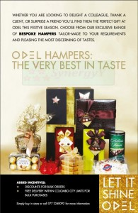 ODEL Hampers – Seasonal Gifts with Exclusively