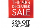 ODEL the Big December Sale – Discounts upto 25% and more on 29th, 30th Dec 2012