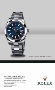 Rolex Wristwatches in Srilanka