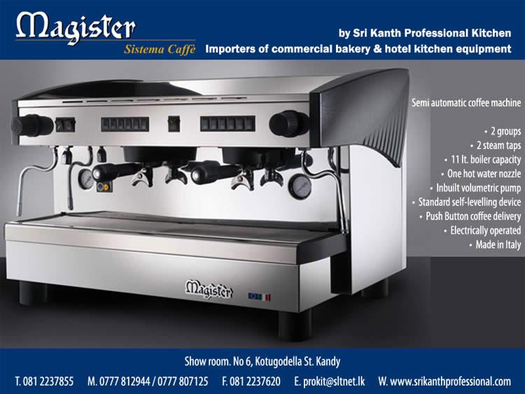 Semi Automatic Coffee Making Machine In Srilanka Synergyy