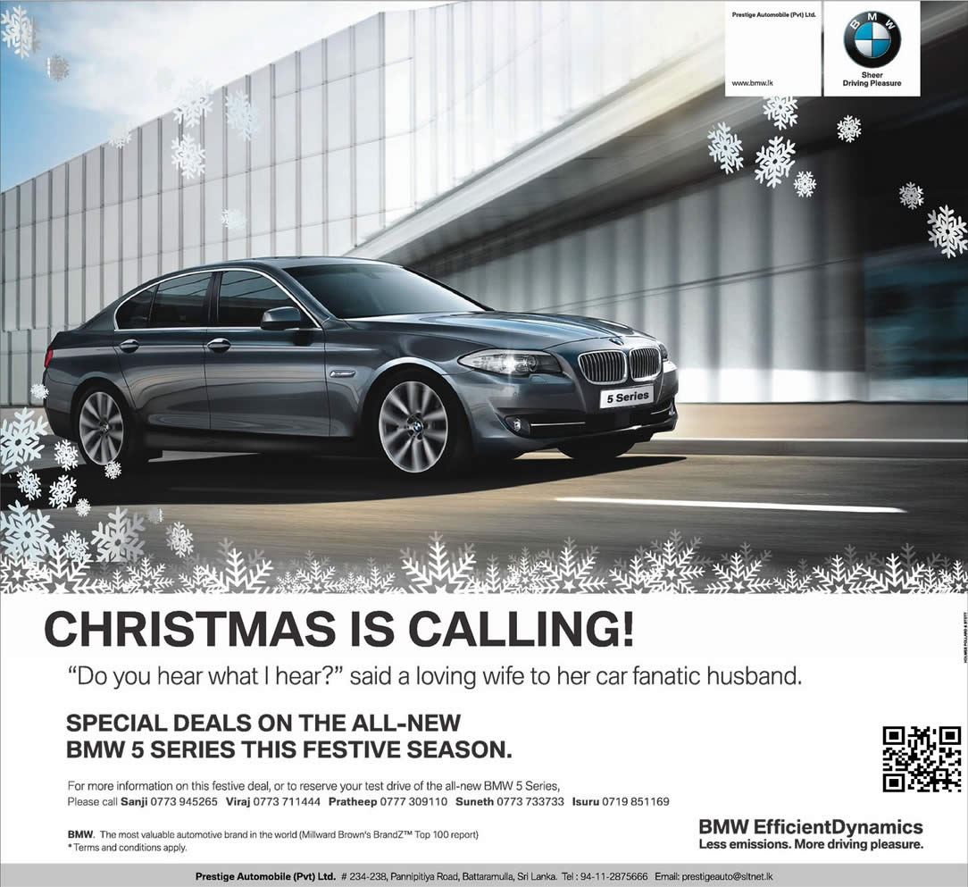 Special Deals For BMW 5 Series Car For This Festive Season