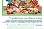 Standard Chartered Credit Card offers – 20th Nov to 10th Jan 2013.