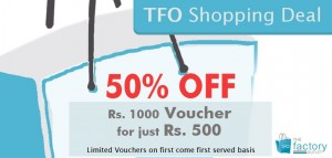 The Factory outlet Shopping Deal on 8.00PM on 24th December 2012 at Facebook