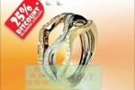 Tri Gold Diamond Rings with 25% Discounts – Bullion Exchange – Last Day offer (31st Dec. 2012)