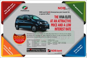 Viva Elite on Leasing Options from NDB Bank
