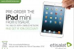 iPad Mini Pre-Order in Srilanka with Etisalat – 16th Dec 2012