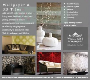 Wall Papers & 3D Tiles in Srilanka