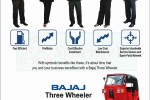 Bajaj three wheeler (Auto) Rs. 460,880.00 All Inclusive