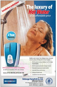 Beebest luxury of Hot Water at Affordable Price – Rs. 14,500.00 – January 2013