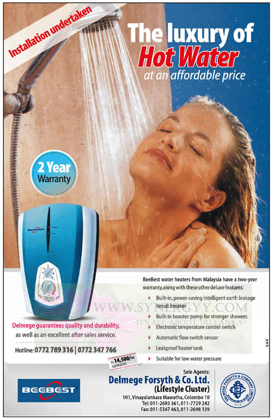 Beebest Luxury Of Hot Water At Affordable Price Rs