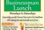 Businessman Lunch at Eden Café Srilanka