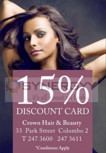 Buy Classic Cake from Breadtalk Srilanka and Enjoy 15 % Discount on Crown Hair & Beauty