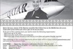 Cabin Crew Vacancy for Qatar Airways – (Females Only)