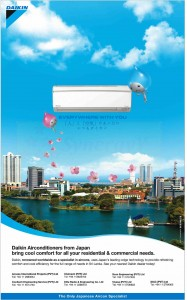 Daikin Air Conditioner in Srilanka