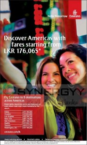 Fly to America from Rs. 176,065.00 onwards – Emirates - January 2013