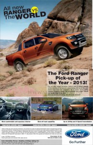 Ford Ranger Pickup Rs. 3,250,000 Upwards in Srilanka – January 2013