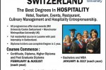 Hospitality Degree Programme – Study in Switzerland