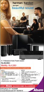 Kardon by Harman Professional Home Theatre System for Rs. 89,990.00 from Abans