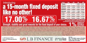 LB Finance Interest rate – January 2013