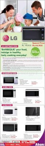 LG Ovens Special price promotion by Abans – January 2013