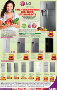 LG Refrigerators for Rs. 74,900 to Rs. 539,900.00 - Abans