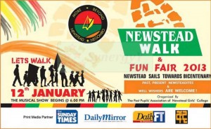 Newstead Girls College, Negombo – Newstead Walk & Fun Fair 2013