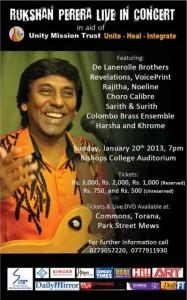 Rukshan Perera Live in Concert in Colombo