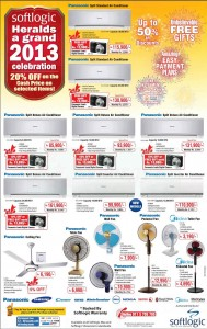 Softlogic Heralds a grand 2013 Celebration – 20% off on cash price on selected items