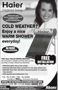 Solar Water Heaters Rs. 67,990.00 onwards by Abans