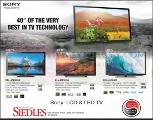 Song LCD & LED TV Prices at BIA Duty Free Shop – Siedles