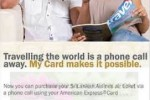 Sri Lankan Airlines Tickets via Phone Call only for American Express Credit Card