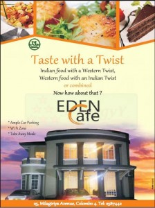 Taste with Twist – Eden Café