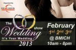 The Wedding Show 2013 – a Wedding Exhibition at BMICH on 1st to 3rd February 2013
