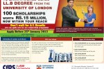 University of London LLB Degree by CFPS Law School Srilanka – Commence from 25th January 2013