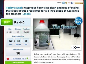 Xcellence Tile Cleaner 60% off From Anything.lk