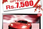 "32"" LG LED TV for Rs. 64,990.00 & obtain free Gift voucher"