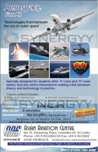 Aerospace for All 3 Month short Course from Asian Aviation Centre