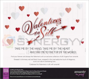 Amante Valentine's Day Offer – February 2013