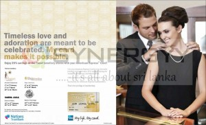 American Express Valentine's day Offer – February 2013
