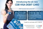 CDB Introduce New VISA DEBIT CARD