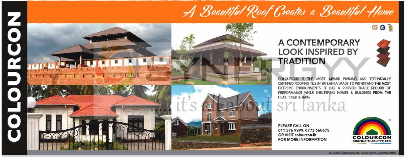 Colourcon Roofing Tiles In Srilanka Synergyy