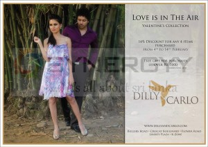 Dilly & Carlo 14% Discount for any of 4 Items from 4th to 14th Feb, 2013