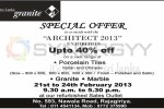 Free Lanka Granite – Discounts up to 40% at Architect 2013 Exhibition