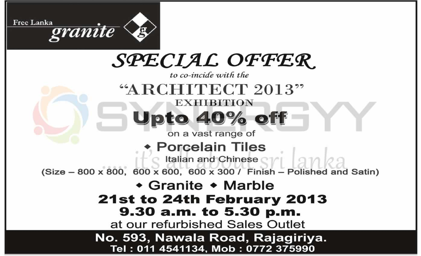 Building Materials Prices And Promotions In Sri Lanka