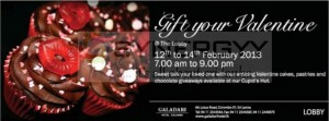 Gift your Valentine at the Lobby
